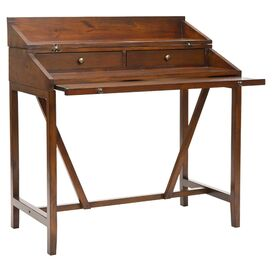 Jerome Writing Desk in Dark Walnut