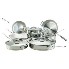 All-Clad 14-Piece Copper Core Cookware Set