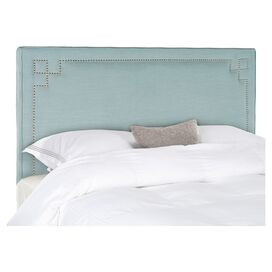 Remington Queen Headboard in Sky Blue