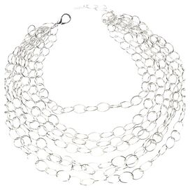 Cheya Necklace in Silver