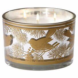 Winter Bird Candle