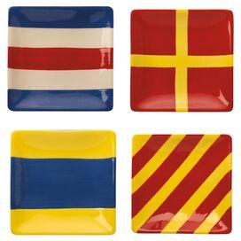 Flag Appetizer Plate (Set of 4)