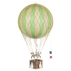 Royal Hot Air Balloon Decor in Green