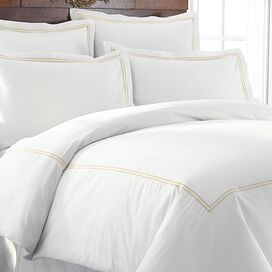 Karla Duvet Cover Set in Warm Sand