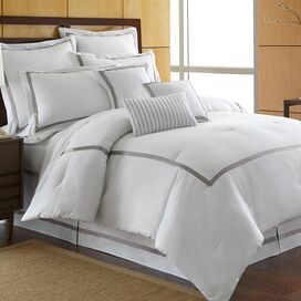 Toulouse Comforter Set in Platinum