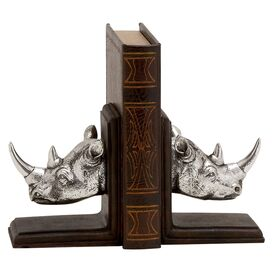 Rhinoceros Bookend (Set of 2)
