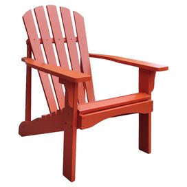 Rockport Adirondack Chair in Rust