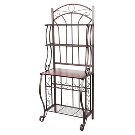 Old Dutch Griet Baker's Rack in Pewter