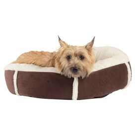 Mandy Pet Bed in Dark Chocolate