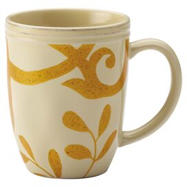 Rachael Ray Scroll Mug in Beige (Set of 4)
