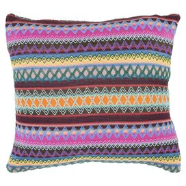 Mackenzie Reversible Pillow in Chocolate Burst (Set of 2)