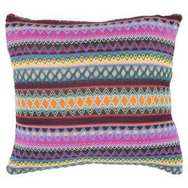 Mackenzie Reversible Pillow in Chocolate Burst (Set of 2)