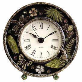 Jungle Table Clock