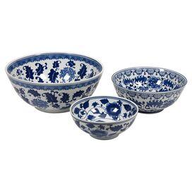 3-Piece Tollmache Bowl Set