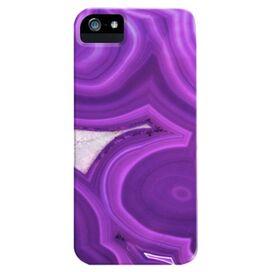 Purple Agate iPhone 5 Case