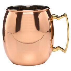 Old Dutch Sorina Moscow Mule Copper Mug (Set of 4)