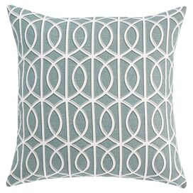 Gate Pillow Cover in Azure