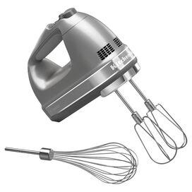 KitchenAid 7-Speed Hand Mixer in Silver