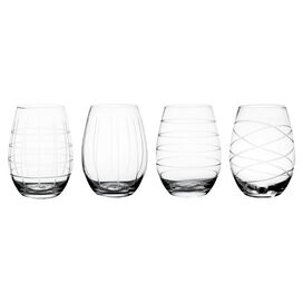 Madison Stemless Wine Glass (Set of 4)