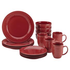 Rachael Ray 16-Piece Dinnerware Set in Crantini