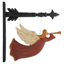 Trumpeting Angel Wall Decor