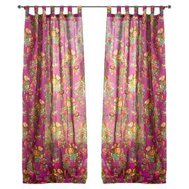 Flora Curtain Panel