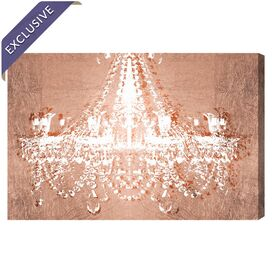 Dramatic Entrance Rose Canvas Print, Oliver Gal