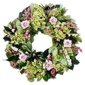 Preserved Hydrangea Wreath