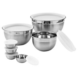 14-Piece Stainless Steel Mixing Bowl Set
