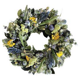 Preserved Lavender Bundle Wreath