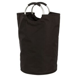 Canvas Bag Hamper in Black