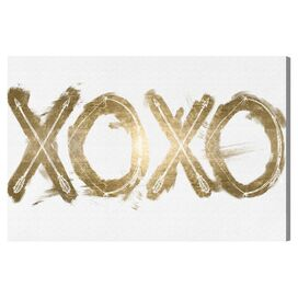 Warrior XOXO Canvas Print, Oliver Gal