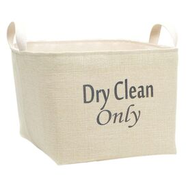Dry Clean Only Storage Bin