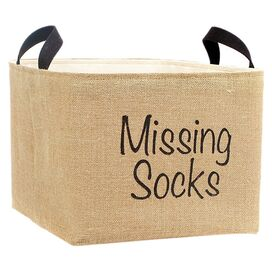 Missing Socks Storage Bin