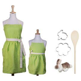 6-Piece My Little Bunny Baker's Kit in Green