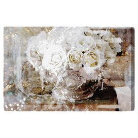 Serving Roses Canvas Print, Oliver Gal