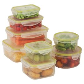 8-Piece Snap-Tab Food Storage Set