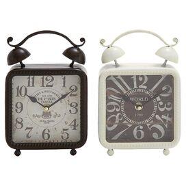 Capistrano Table Clock Set (Set of 2)