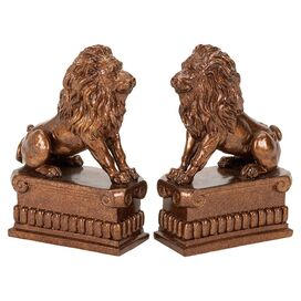 Leo Bookends