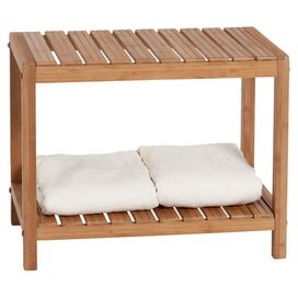 Spa Bamboo Bench
