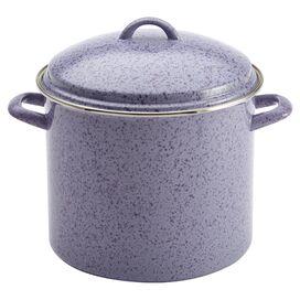 Signature 12-Quart Stockpot in Lavender Speckle