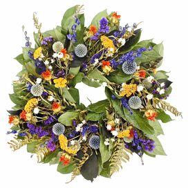 Preserved Echinops Wreath