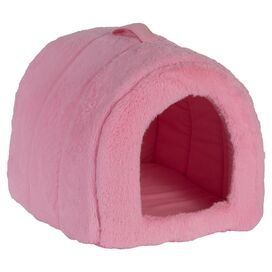 Igloo Pet Bed in Pink
