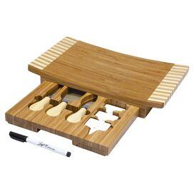 8-Piece Concavo Cheese Board Set