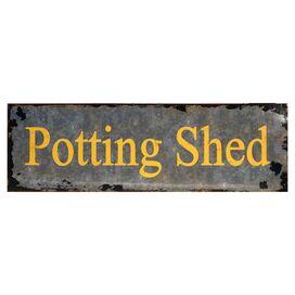 Potting Shed Wall Decor