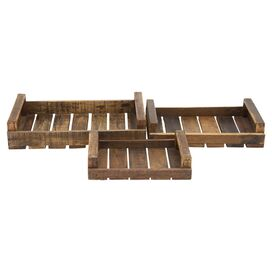 3-Piece Bingham Tray Set