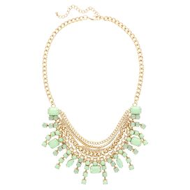 Gabriella Layered Bib Necklace