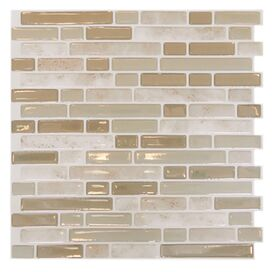 Beatrice Mosaic Tile in Light Beige