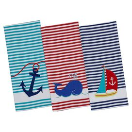 Anchors Aweigh Dishtowel (Set of 3)