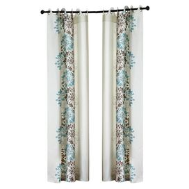 Anaya Curtain Panel in Blue
